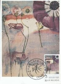1975 BELGIUM - Watercolor by Pol Mara