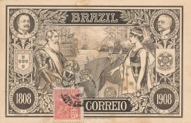© 1925 - BRAZIL Republican female figure