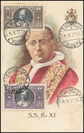 © 1933 VATICAN CITY - Pope Pius XI
