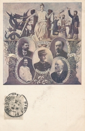 © 1903 - FRANCE Justitia with balance