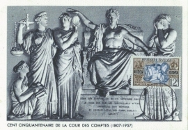 1957 FRANCE - Balance