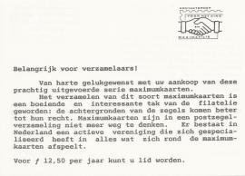 ® 1989 - Wervingsfolder