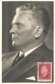 1950 YOUGOSLAVIA President Tito