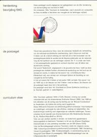 æ E 105 - 1970 Bevrijding 25 jaar Emissiegegevens PTT