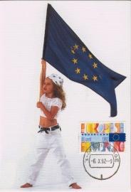 1992 NETHERLANDS European flag