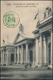 © 1911 - BELGIUM Coat of arms