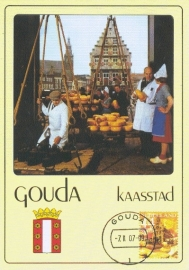 MOOI NEDERLAND 2007 - City hall Gouda - Cheese