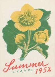 æ 1952 - Zomerzegels Folder Engels