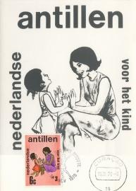®® 1970 NVPH 430 NEDERL. ANTILLEN Moeder en kind