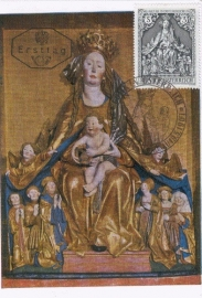 1967 AUSTRIA - Our Lady of Protection