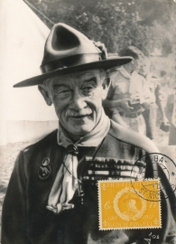 ®® 1957 NVPH 258 NED. ANTILLEN Baden Powell Scouting