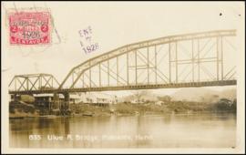 © 1928 HONDURAS Bridge over river Ulua