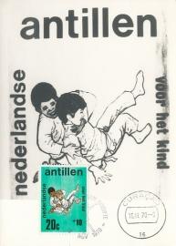 ®® 1970 NVPH 432 NEDERL. ANTILLEN Kind en judo