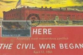 2011 USA - Civil war Fort Sumter Charleston