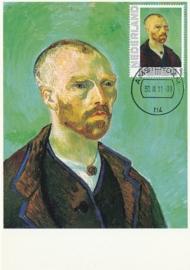 PG007 Van Gogh Self portrait 1888