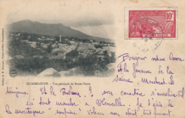 © 1908 GUADELOUPE City overview Basse Terre