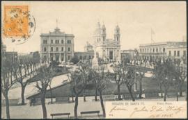 © 1908 ARGENTINA Republic statue Phrygian cap