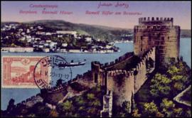 © 1920 - TURKEY Constantinople Rumelian Castle