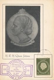 ®® 1954 NVPH 247 NED. ANTILLEN Koningin Juliana