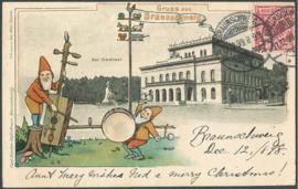 © 1898 - GERMAN REICH - Heraldic Eagle
