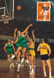 ®® 1980 NVPH 666 NED. ANTILLEN Basketbal