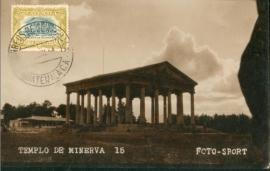 © 1934 GUATEMALA Temple of Minerva