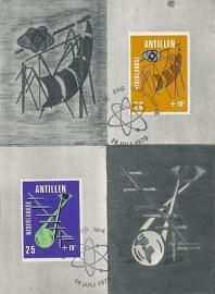 ®® 1970 NVPH 428/29 NED. ANT. Communicatie