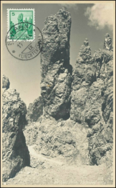 © 1934 LIECHTENSTEIN Three sisters mountains