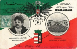 © 1906 - ITALY - House of Savoy Coat of arms