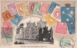 © 1907 - VICTORIA AUSTRALIA - Queen Victoria Stamp