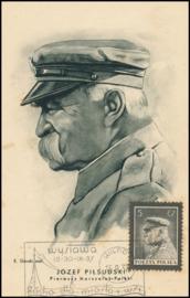 © 1937 - POLAND Marshal Pilsudski