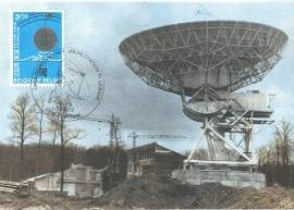 1972 BELGIUM - Parabolic antenna Telecom