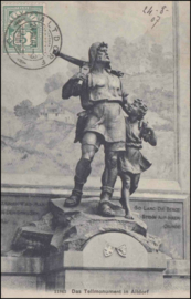 © 1907 SWITZERLAND White cross