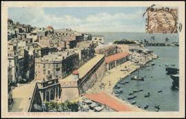 © 1912 - MALTA Great harbor Valletta