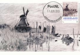 þþ - 2013 Monet Windmill at Zaandam
