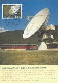 1976 SWITZERLAND Parabolic antenna