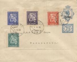 ¤¤¤ 1927 SURINAME Van Heemstra-stichting