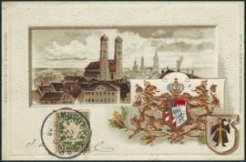 © 1900 - BAVARIA Coat of arms