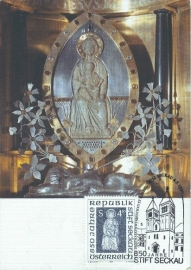 1985 AUSTRIA - Stift Seckau Madonna