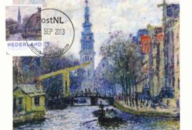 þþ - 2013 Monet Canal in Amsterdam