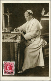 © 1939 VATICAN CITY - Pope Pius XI
