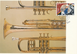 ®® 1991 NVPH 974 NED. ANTILLEN Harmonie