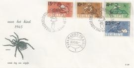 ¤¤¤ E 039 SURINAME Kinderzegels