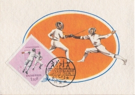 1965 HUNGARY - Fencing Universiade