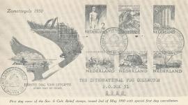 æ 1950 - Zomerzegels Aankondiging