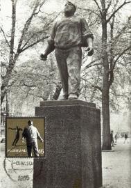 1965 NETHERLANDS Dokwerker Amsterdam