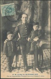 © 1910 - SPAIN - King Alfonso XIII