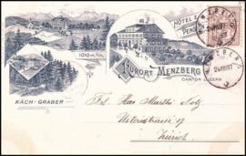© 1897 SWITZERLAND Flag White cross