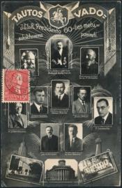 © 1936 - LITHUANIA President Smetona