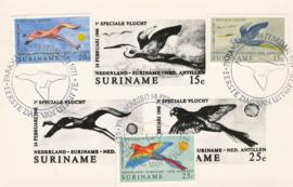 ®®® 1971 - CATA 553/55 - SURINAME Vogelsoorten